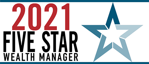 2021 Five Star Wealth Manager Award